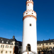 Famous tower of the castle in Bad Homburg, original location for - Stock Photo