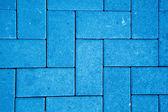 Modèle de chaussée fait avec des blocs de béton coulé — Photo