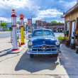 Old retro filling station in Williams — Stock Photo #17383487