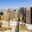Foto Stock: View from rooftop to city of SFrancisco