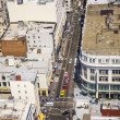 Stock fotografie: View from rooftop to city of SFrancisco