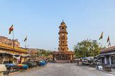 Famosa torre del reloj victoriano en jodhpur — Foto de Stock