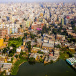 Aerial of Dhaka, Bangladesh — Stock Photo