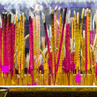 Joss sticks near Giant Buddha - Stock fotografie