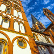 Gothic dome in Limburg, Germany in beautiful colors — Stock Photo #17631599
