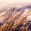 Stock Photo: Beautiful view from aircraft to mountains of Himalay