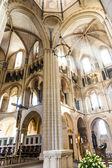 Bóveda gótica en limburg, Alemania en hermosos colores — Foto de Stock