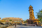 Jodhpur clocktower — Stock Photo
