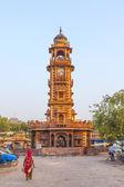 Hurry at the Sadar market at the clocktower — Stock Photo