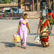 Stock Photo: Hurry at Sadar market at clocktower