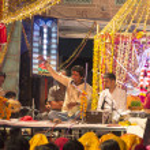 Local nightly street festical in Jodhpur — Stock Photo