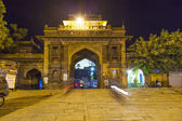 Sardar market at the clocktower by night — Stock Photo