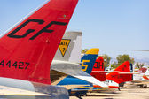 Aircraft in Pima Air and space Museum — Stock Photo