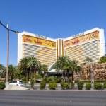The Mirage Casino Hotel and Resort in Las Vegas — Stock Photo #17872889