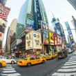 Times square in New York in afternoon light — Stock Photo #18119109