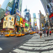 Times square in New York in afternoon light — Stock Photo #18119633