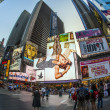 Times square in New York in afternoon light — Stock Photo #18120275