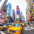 Times square in New York in afternoon light — Stock Photo #18121537
