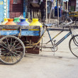 Stock Photo: Three wheeler bike