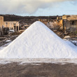 Salt refinery, Saline from Janubio, Lanzarote, Spain — Stock fotografie