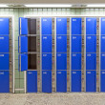 Locker at the station — Stock Photo #18240419