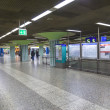 Hurry in METRO station Hauptwache — Stock Photo #18241141