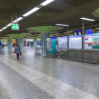 Hurry in the METRO station Hauptwache — Stockfoto