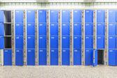 Locker at the station — Stock Photo