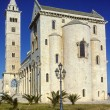 Trani cathedral in Apulia, Italy - Stock Photo