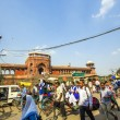 Around JamMasjid Mosque, old Delhi, India — Stock Photo #18470015