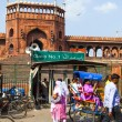 Around JamMasjid Mosque, old Delhi, India — Stock Photo #18471437