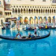 venice resort in las vegas with in the gondola — Stock Photo #18537633