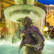 Fountain at Cesars Palace  on the Las Vegas Strip — Stock Photo