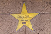 Star of Marilyn Monroe on sidewalk in Phoenix, Arizona. — Stock Photo