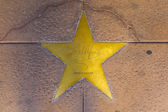 Star of Gary Cooper on sidewalk in Phoenix, Arizona. — Stok fotoğraf