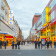 Stock Photo: Shop in main pedestriarea