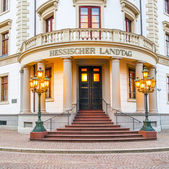 Parliament (Landtag) of Hesse in Wiesbaden — Foto Stock