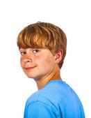 Ritratto di ragazzo sorridente felice — Foto Stock