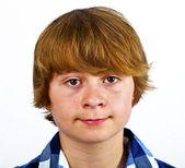 Portrait d'une adolescente mignon — Photo