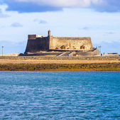 Castle Castillo de San Gabriel in Arrecife, Lanzarote — Stock Photo