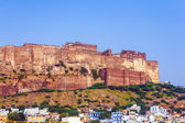 A view of Jodhpur, the Blue City of Rajasthan — Stock Photo