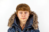 Boy in winter clothes — Stock Photo