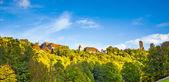 Panorama över rothenburg ob der tauber — Stockfoto
