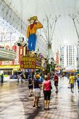 Fremont Street Experience an attraction in downtown Las Vegas — Stock Photo