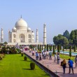 Stock Photo: Visit Taj Mahal in Agra, India