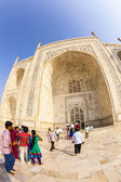 Visit Taj Mahal in Agra, India — Stock Photo