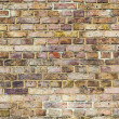 Pattern of brick wall with harmonic colors — Stock Photo #19304845
