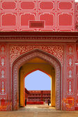 Entrance to City Palace, Jaipur, India — Stock Photo