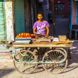Stock Photo: At vegetable market in Bikaner