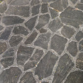 Harmonic pattern of slate tiles — Stock Photo